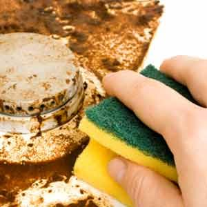 3. Use Elbow Grease, Not Abrasives