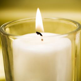 3. Light Candles Safely