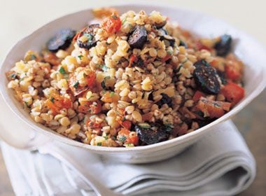 Toasted Buckwheat Pilaf With Dried Fruit