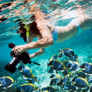 6. Make biodegradable sunscreen your default vacation formula