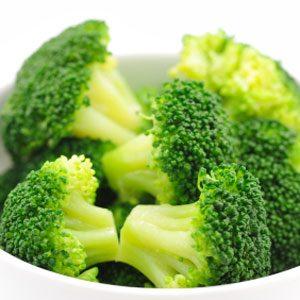 2. Steamed Broccoli
