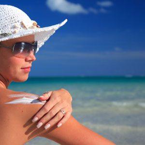 1. Wear Sunblock