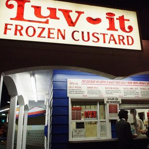 4. Luv-it Frozen Custard