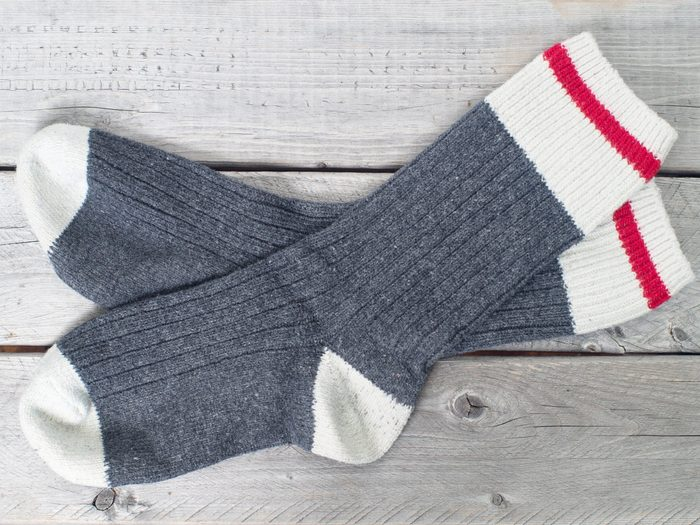Use Old Socks to Protect Stored Breakables
