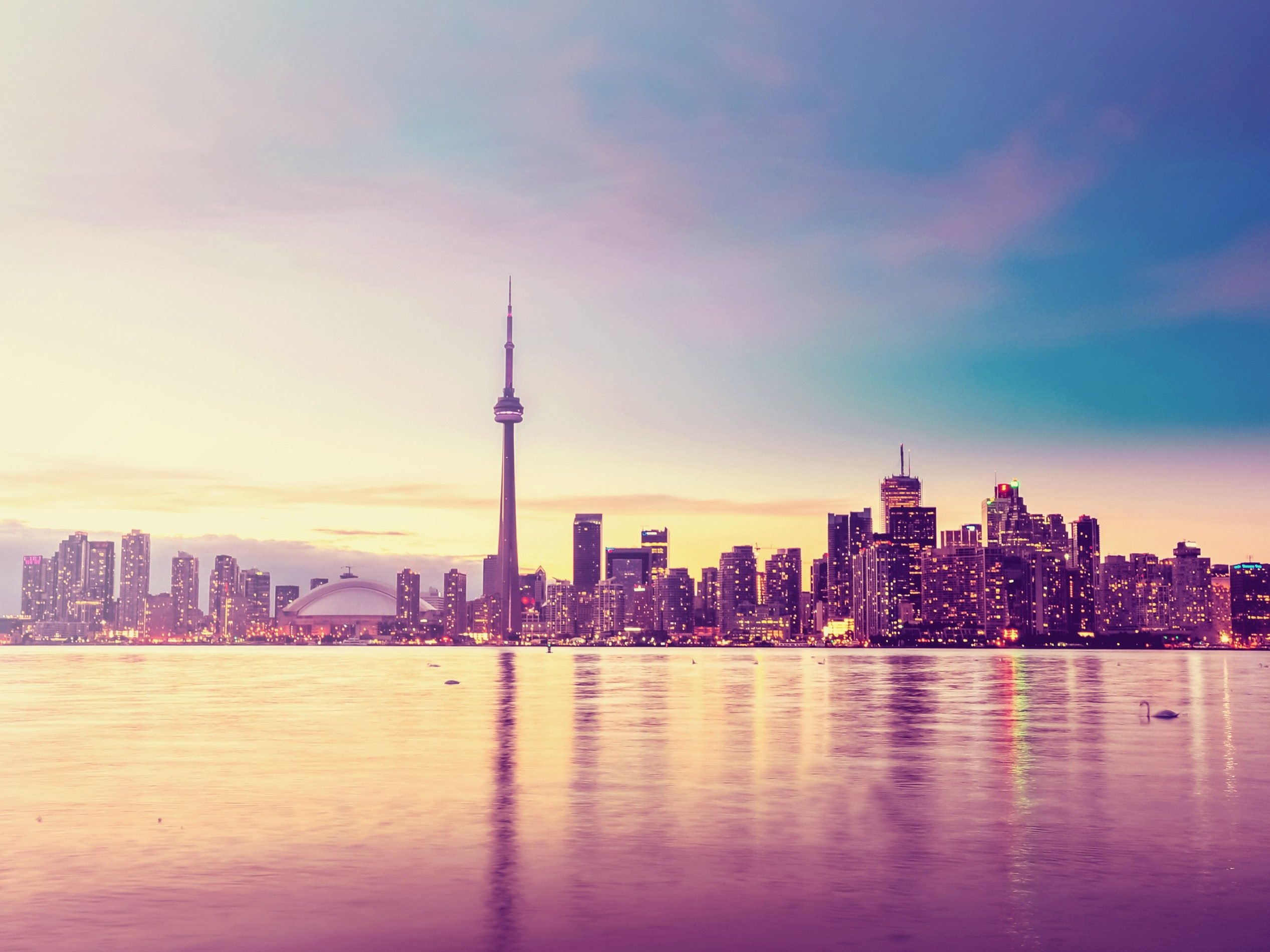 1. The Toronto skyline