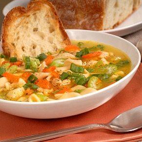 Turkey, Broccoli and Corn Soup