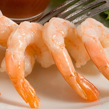 Problem: Shrimp and other shellfish are too high in cholesterol.