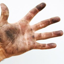 3. Clean and Soften Dirty Hands