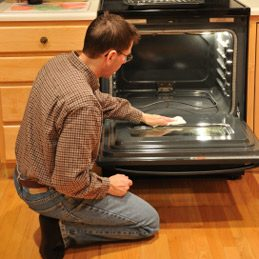 5. Remove Oven Residue