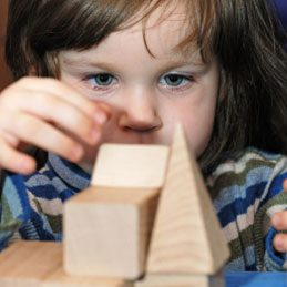 What to do with shoe boxes: Play Bricks