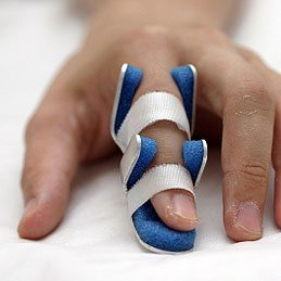 Emergency Finger Splint