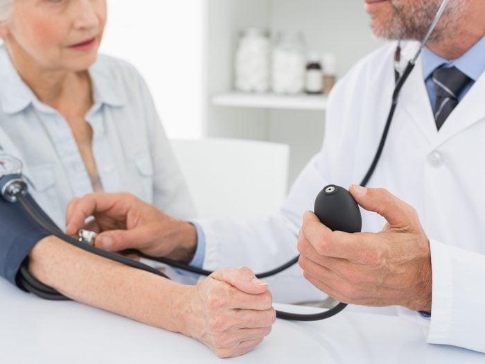 1. High Blood Pressure