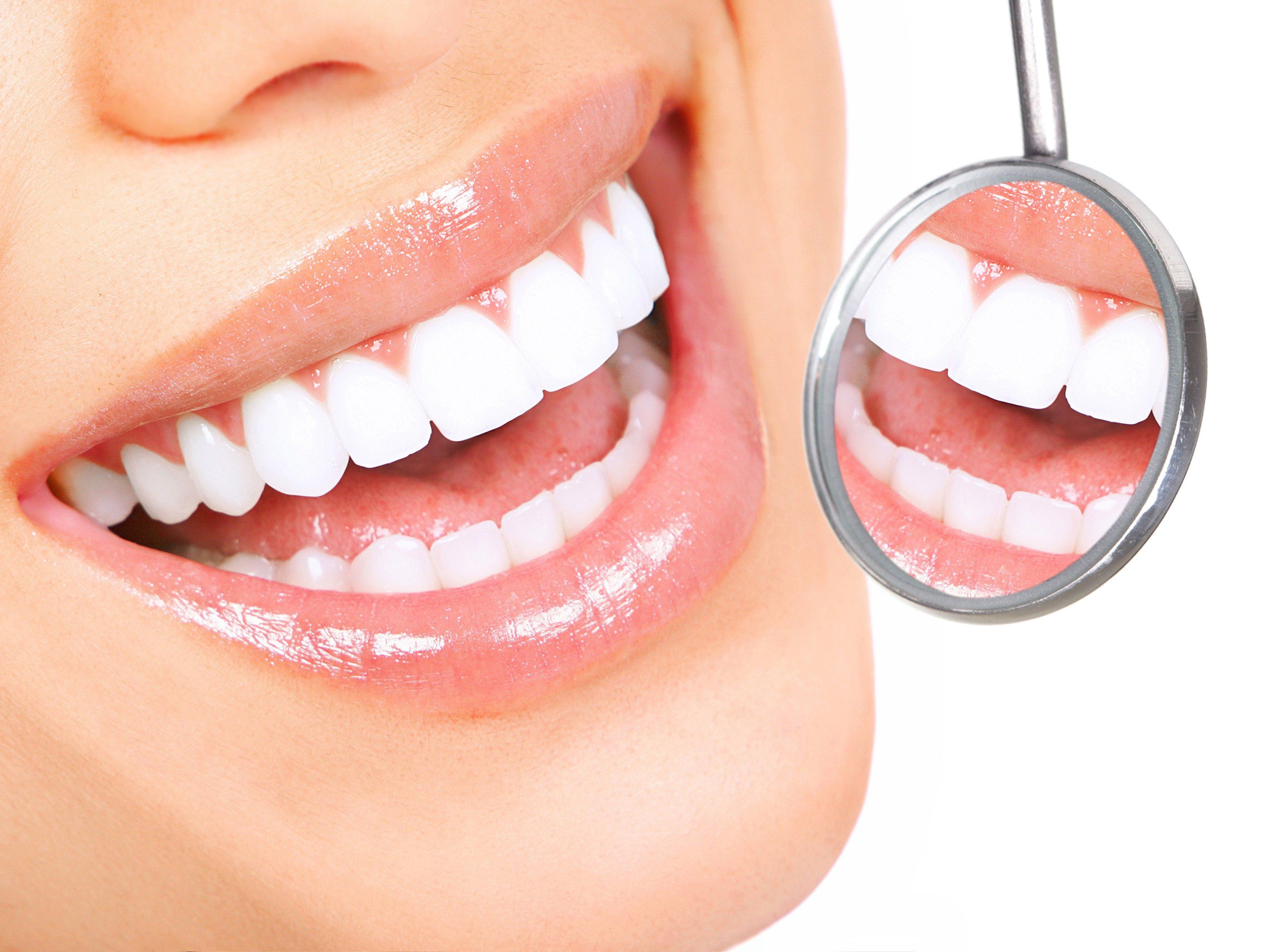 1. Go On a White-Teeth Diet