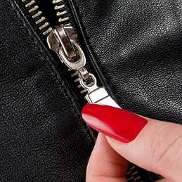 Lubricate a Zipper