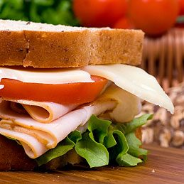 Try Our Pick: Turkey and Swiss Cheese Sandwich
