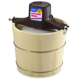 Rival Old Fashioned Wood Bucket Ice Cream Maker