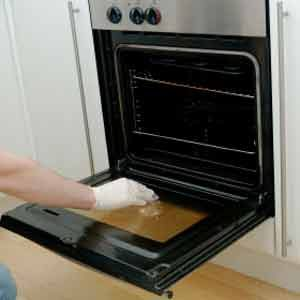 6. Clean that Grimy Oven Window
