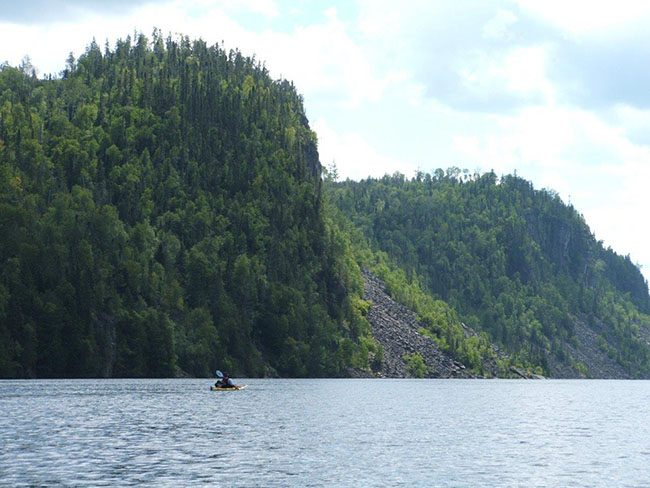 Nipigon River Canyon