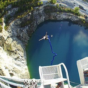 6. Bungee Jumps
