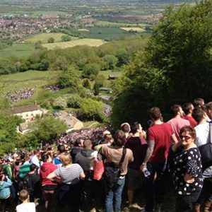 8. Cooper's Hill Cheese-Rolling and Wake