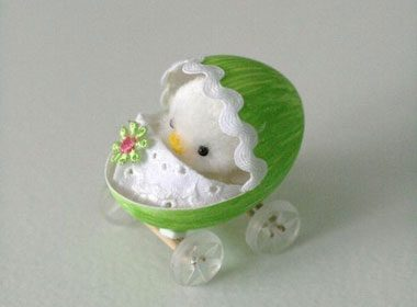 Adorably Fluffy Easter Chicks