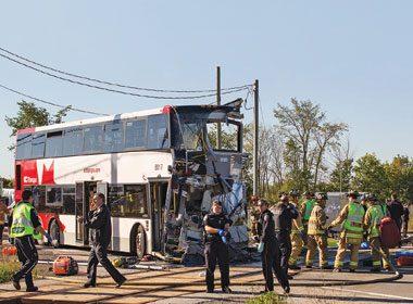 Ottawa Bus and Via Rail Crash