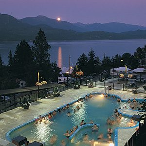 8. Ainsworth Hot Springs Resort, Ainsworth Hot Springs, B.C.