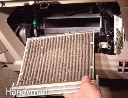 3. Replace the Air Filter Annually