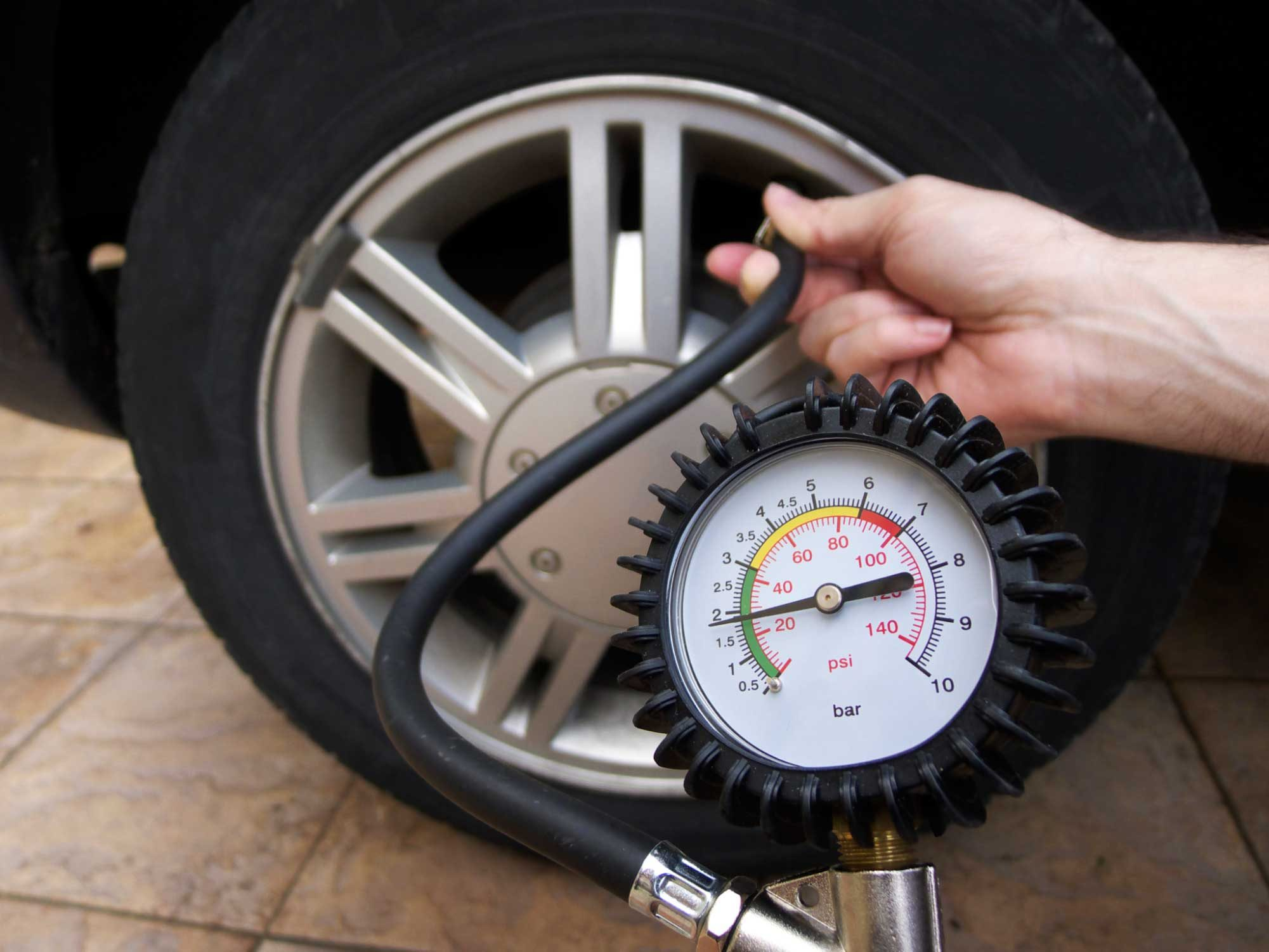 Don't Over-Inflate Your Tires
