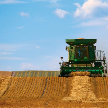 Harvesting in the Canadian Heartland