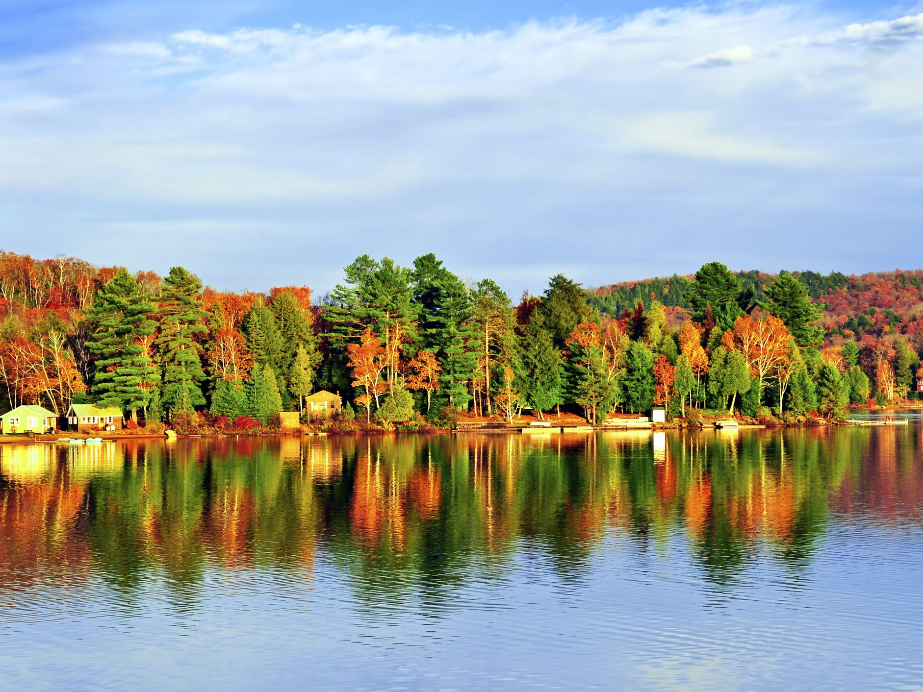 5 best fall camping destinations in canada for Best fall destinations in the us