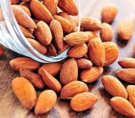 Roasted Almonds - With the Skins
