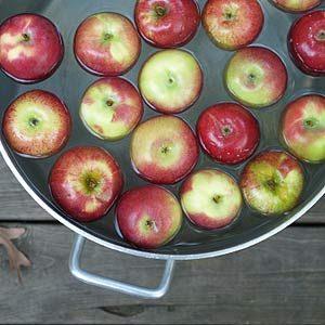 6. Apple Bobbing Started in England