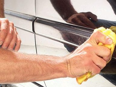 Apply the Molding to Car's Body