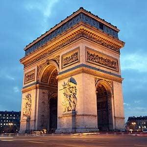 2. Arc de Triomphe, Paris