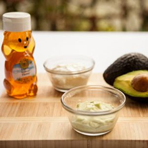 1. Avocado-Honey Moisturizer