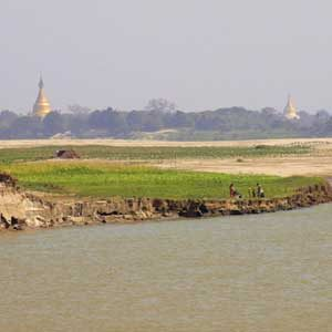 Exotic River Cruise #5: Ayeryarwady River, Myanmar