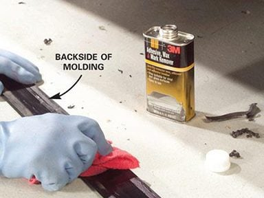 Clean the Car's Molding