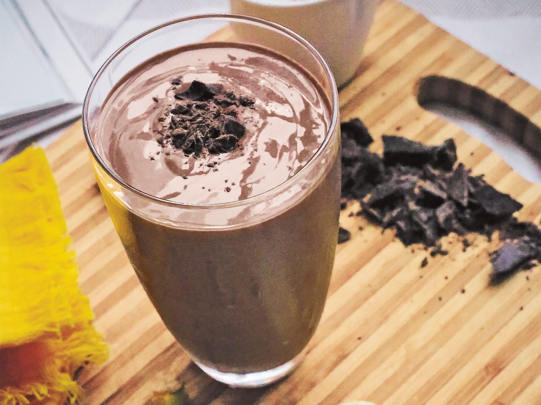 Choco-Bananachino Smoothie