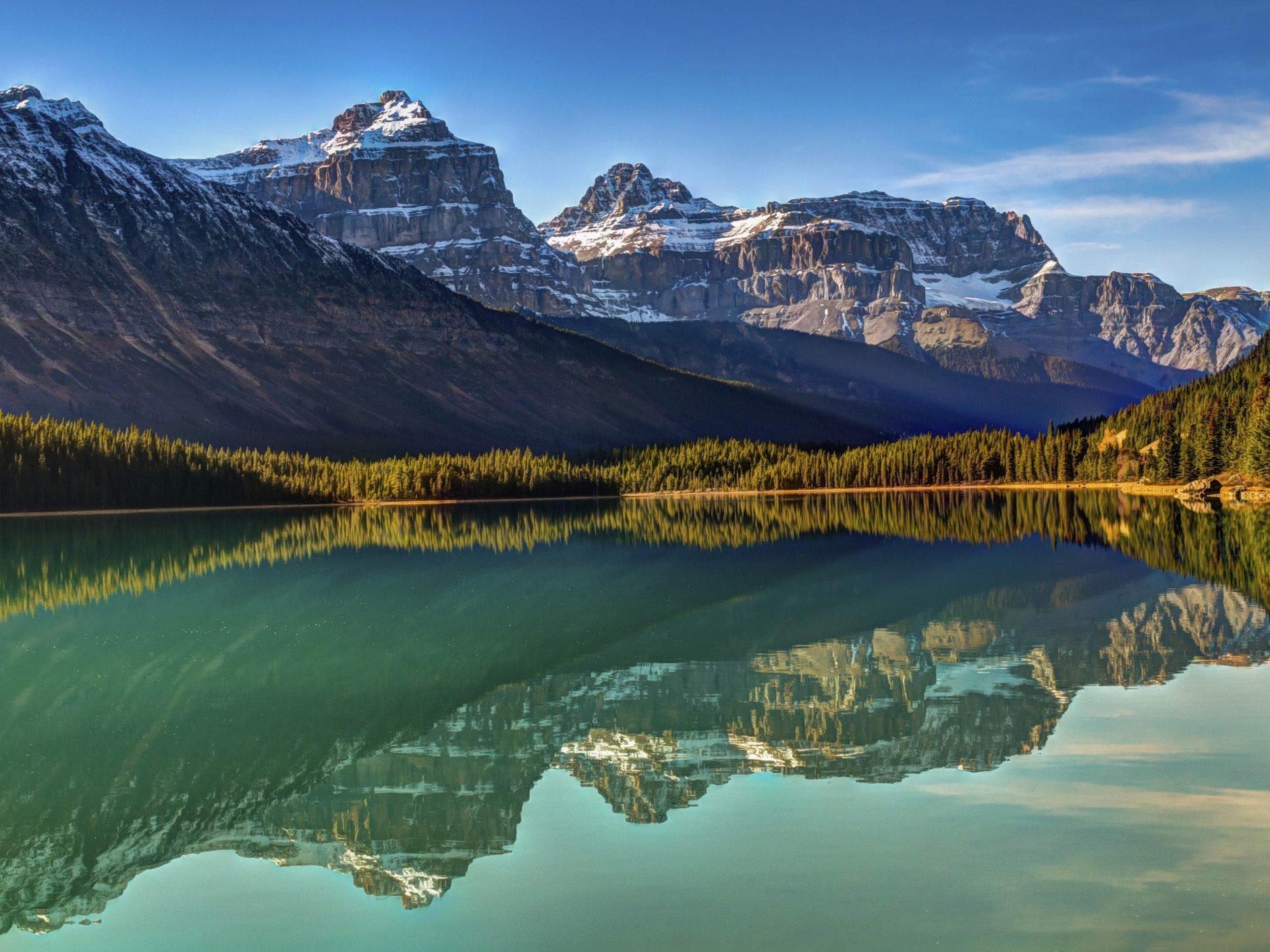 Fall camping destinations: Banff National Park, Alberta