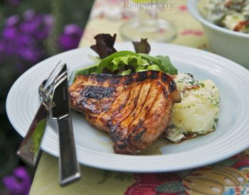 Taste of Home Canada: Barbecued Pork Chops with Rosemary Lemon Marinade