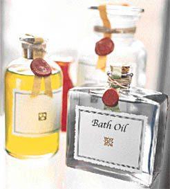 Scented Bath Oil