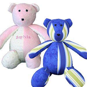 6. Memory Clothes Keepsake Bear