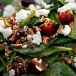 Beef & Spinach Salad With Pecans