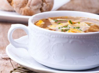 Beer Soup With Cheese