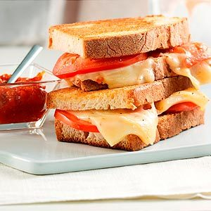 Ned 'Bell Pepper' Sweet & Spicy Grilled Cheese Sandwich