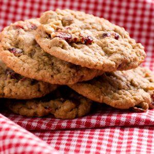 3. Rhubarb Cranberry Cookies