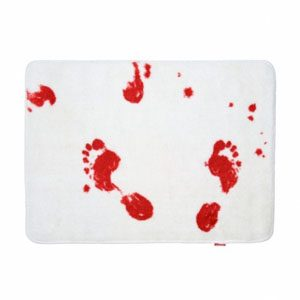 6. Bloodbath Bath Mat