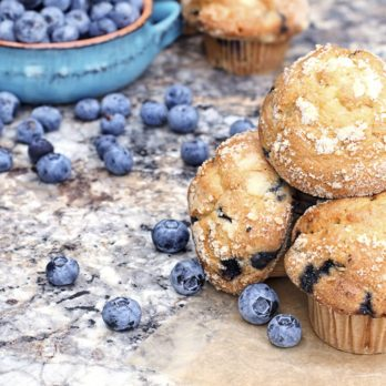 Mini Blueberry Muffins With Flaxseed