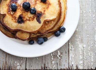 Light 'N' Luscious Blueberry Pancakes